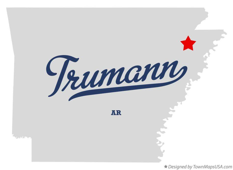 map_of_trumann_ar